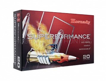 HORNADY 81574 SUPERFORMANCE AMMO 7 X 64 162GR SST