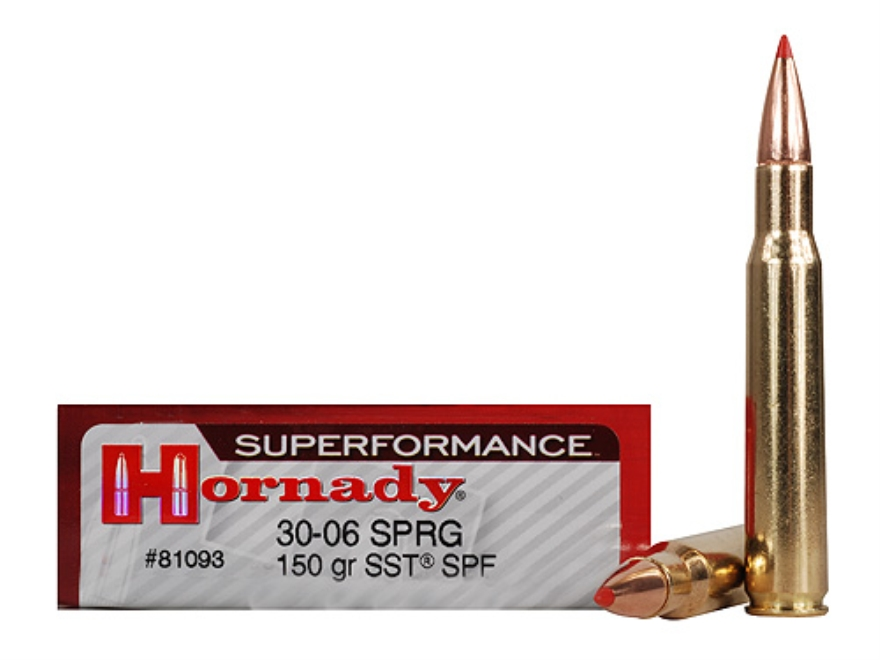81093 MUNITIE 30 06 Springfield 150 gr SST® Superformance®
