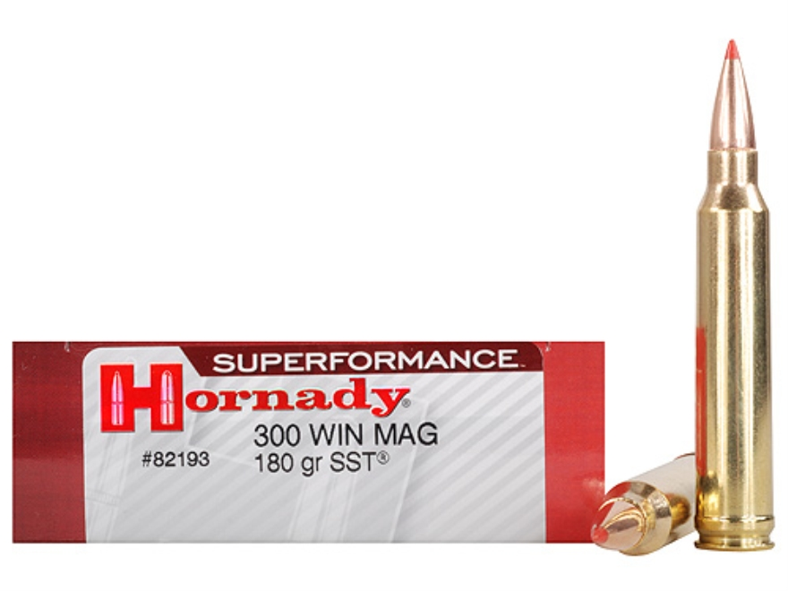 82193 MUNITIE 300 Win Mag 180 gr SST® Superformance®